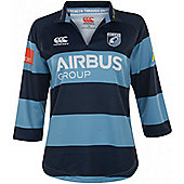 Canterbury Cardiff Blues Womens Home Pro Jersey 14/15 - Navy