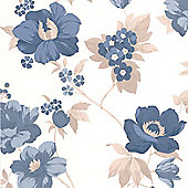 Superfresco Easy Eden Wallpaper - Blue