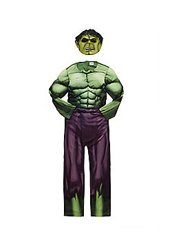 Marvel Avengers Assemble The Incredible Hulk Dress-Up Costume - 9-10 yrs
