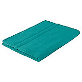 Tesco 100% Combed Cotton Bath Sheet Kingfisher