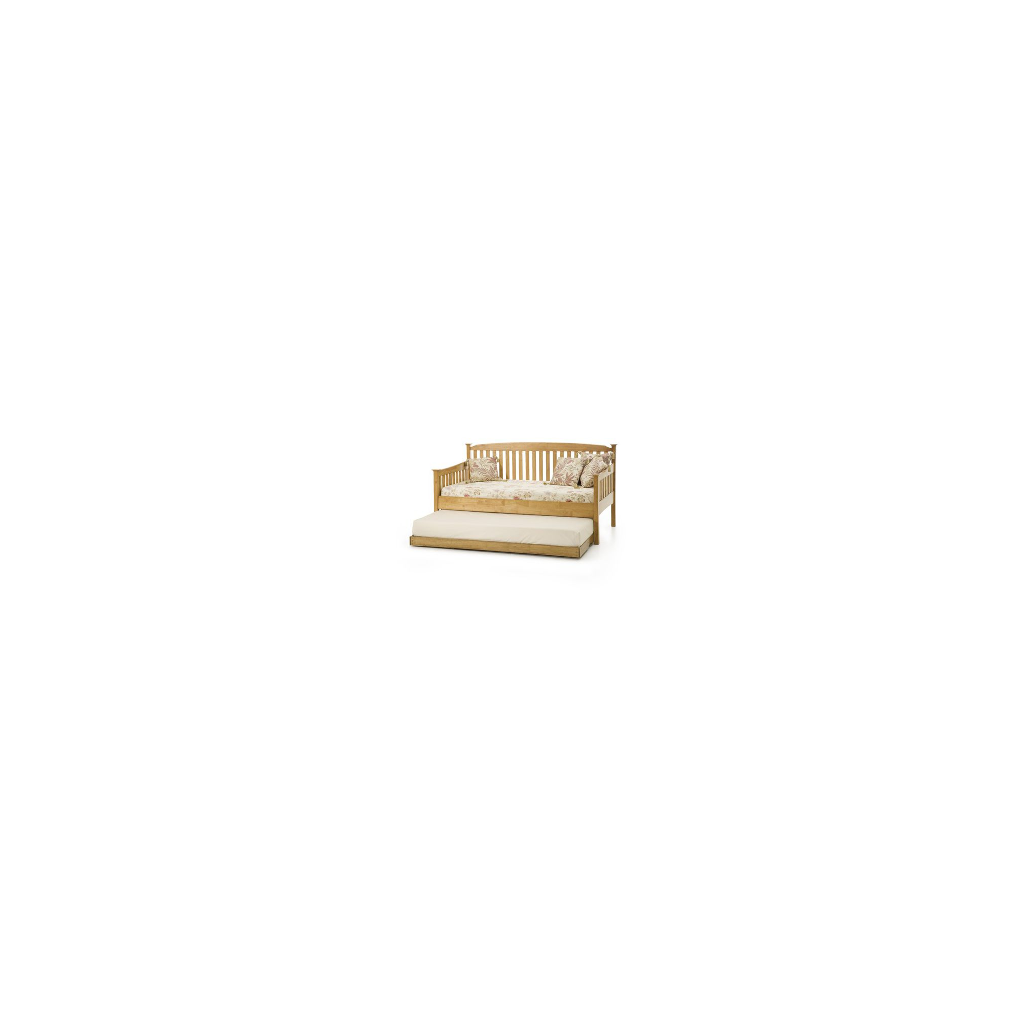 Serene Furnishings Eleanor Single Day Bed - Honey Oak at Tesco Direct