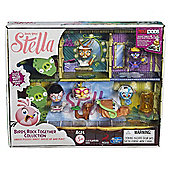 Angry Birds Stella Telepods Birds Rock Together Figure Collection - Action Figures