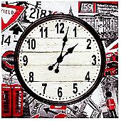 Home Essence London Wall Clock