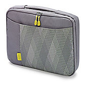 Dicota Bounce Slim Case (Grey/Yellow) for 15 inch to 16.4 inch Notebook