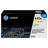 HP 645A LaserJet Toner Cartridge - Yellow