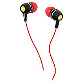 Puma Alliance In-Ear Headphones - Black/Red