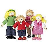 John Crane Tidlo Wooden Doll Family
