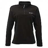 Regatta Ladies Sweethart Half Zip Fleece - Black