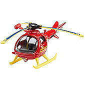 Fireman Sam Die Cast Vehicles - Wallaby 1 Helicopter