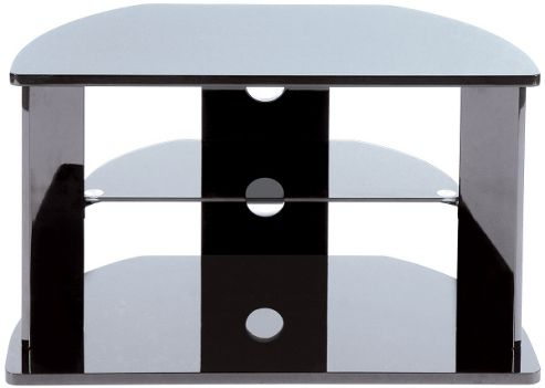 LEVV High Gloss Black TV Stand For up to 32 inch TVs