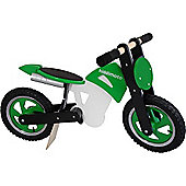 Kiddimoto Scrambler (Green/Black/White)