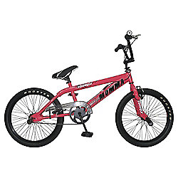 Big Momma BMX Bike with Spokes, Neon Pink