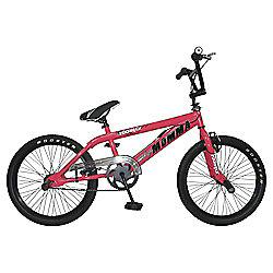Big Momma BMX Bike with Spokes, Neon Pink