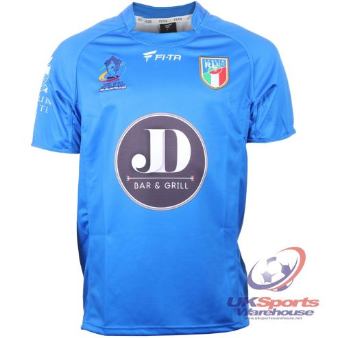 Official Italy Rugby League World Cup 2013 Team Rugby Jersey Shirt - Blue