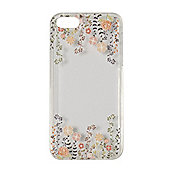 "Tortoiseâ""¢ Soft Protective Case,iPhone 5/5S.Clear with Twirling Floral 3D Print."