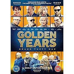 Golden Years Grand Theft OAP DVD
