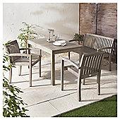 Porto 4-piece Garden Bench Set