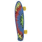 Bored Neon X Skateboard - Tie Die