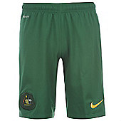 2014-15 Australia Nike Home Shorts (Green) - Green