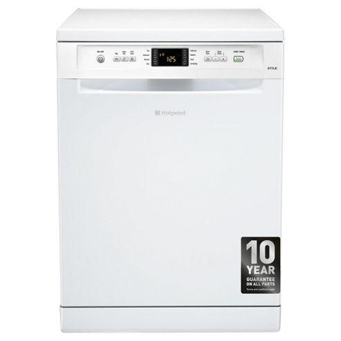 Hotpoint FDYF11011P Fullsize Dishwasher, A Energy Rating, White