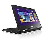 Lenovo Yoga 300 Intel Pentium Quad Core N3540 Processor 11.6 HD Touch Screen Microsoft Windows 8.1 64-bit 4GB DDR3 RAM 500GB HDD 80M0000HUK Laptop