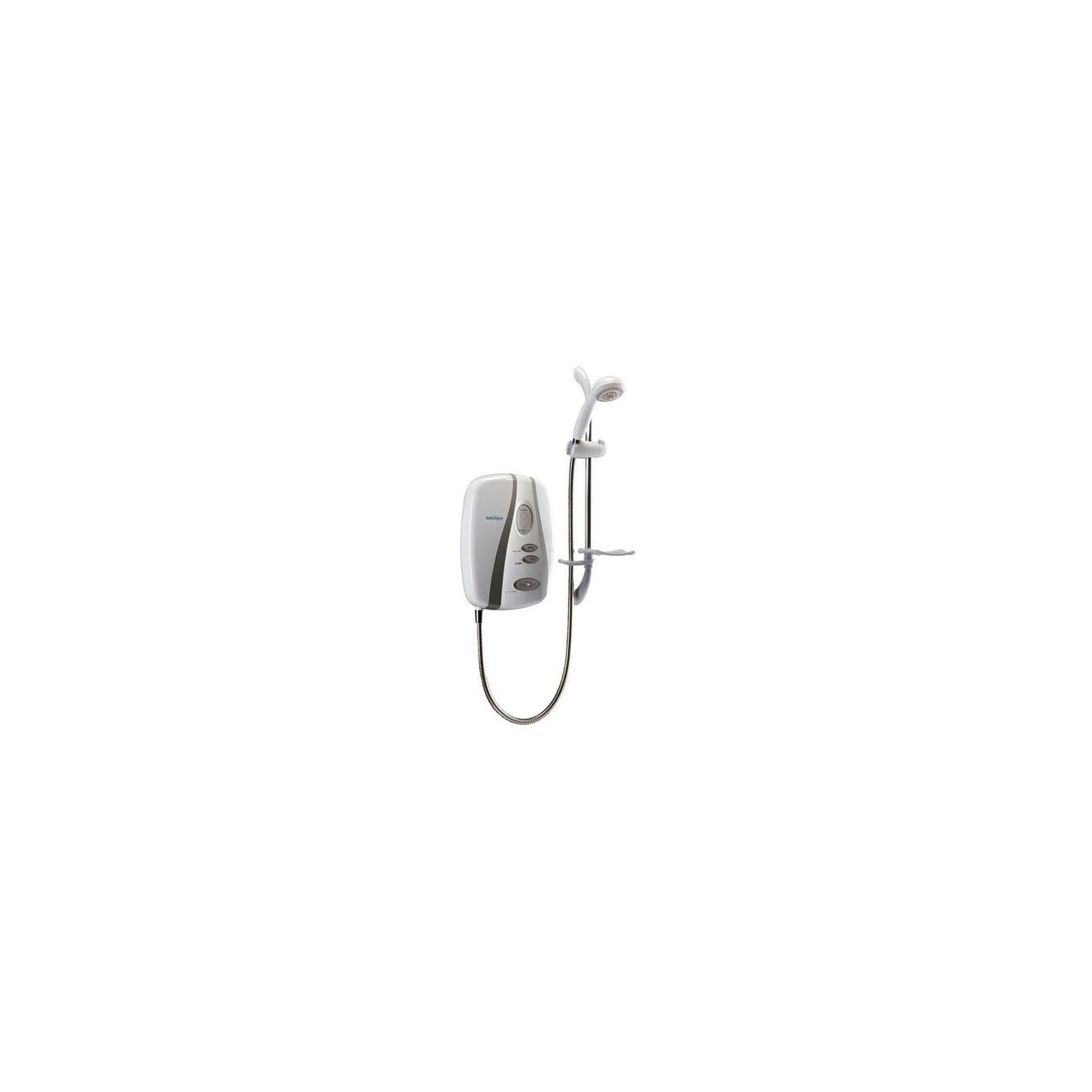 Redring Selectronic Premier Plus Electric Shower White/Chrome 9.5kW at Tesco Direct