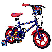 "Monster Hero 12"" Kids' Bike with Stabilisers"
