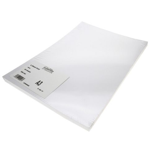 A3 300gsm White Card Pack