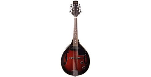 Stagg Electro Acoustic Mandolin - Redburst