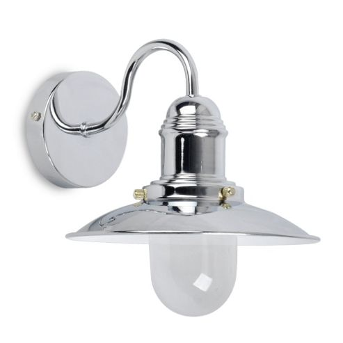 Buy Ukai Fishermans Wall Light, Chrome from our Single Wall Lights range - Tesco