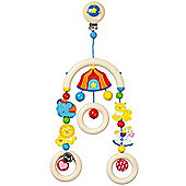 Heimess 735710 Wooden Mini Trapeze Clip On Mobile (Circus)