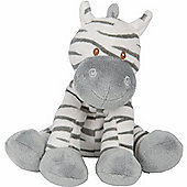 Unisex Zebra Baby Nappy Cake (Single Tier)