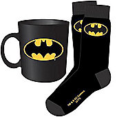 Batman Mug & Sock