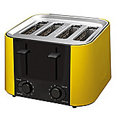 Prestige Daytona 4 Slice Toaster in Yellow