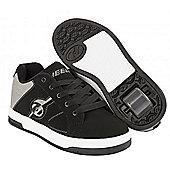 Heelys Split Black/Grey Kids Heely Shoe - Black