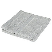 Tesco 100% Combed Cotton Face Cloth Chalk