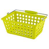 Tesco Basic Plastic Storage, Lime
