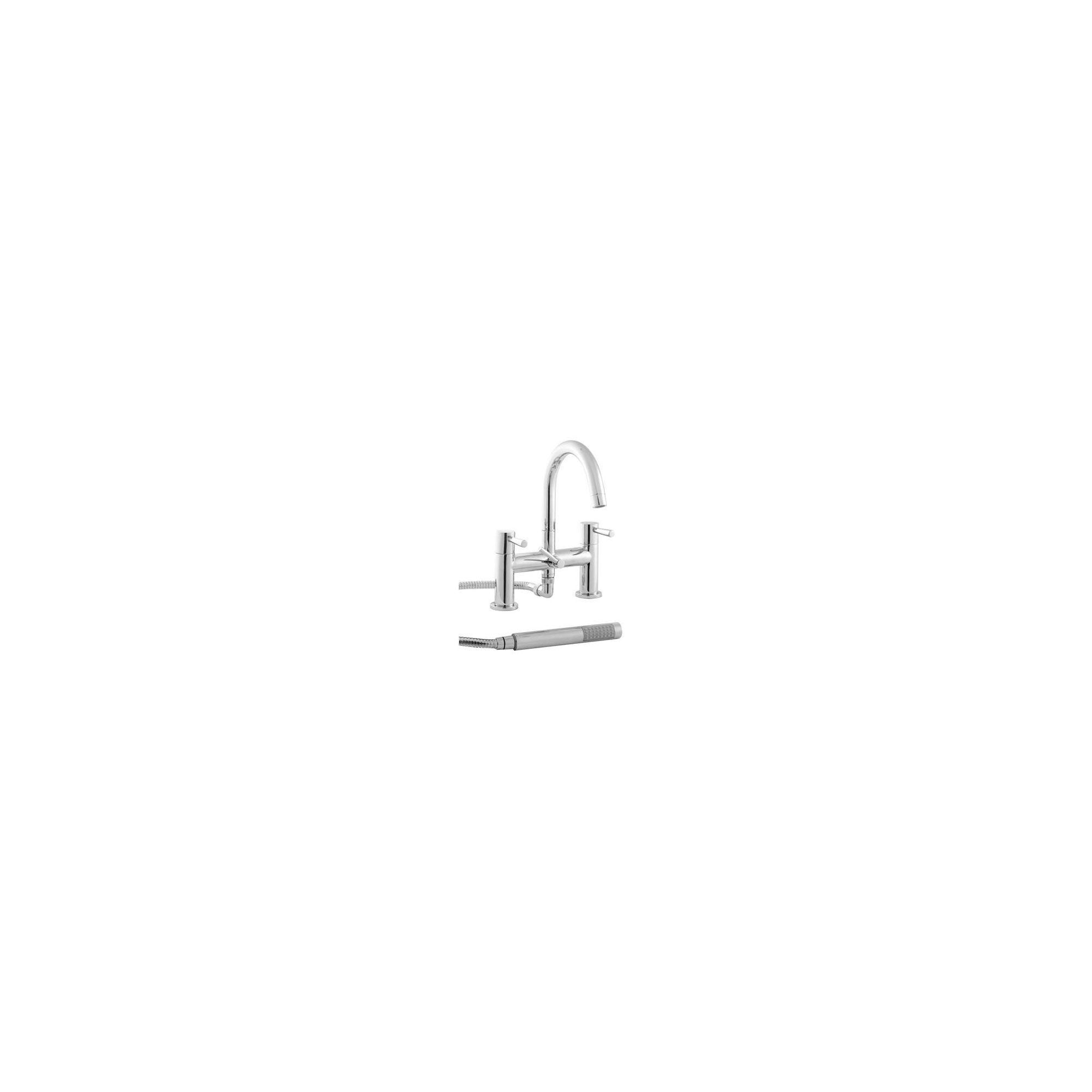 Twyford Siron Pillar Mounted Bath Shower Mixer Tap Chrome at Tesco Direct
