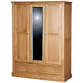 Kelburn Furniture Pitkin Triple Wardrobe