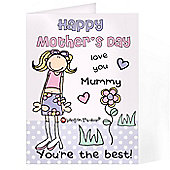 Personalised Love You Mother's Day Card