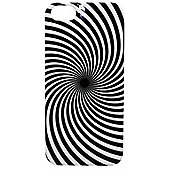 Tortoise™ Look Hard Case iPhone 5 Swirl Black/White