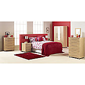Ideal Furniture Bobby 4 Door Wardrobe - White