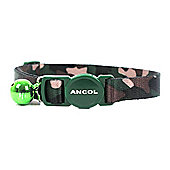 Ancol Cat Collar - Camouflage (Green)