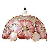 Loxton Lighting Shell Shade in Red