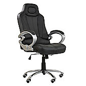 Pro Racing All Black Office Chair