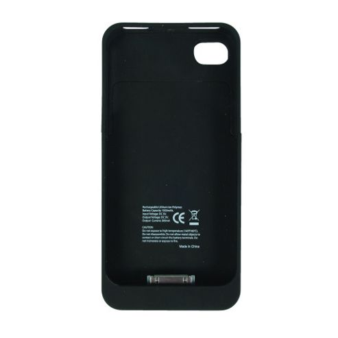 iPhone 4 Power Case with Rechargeable 1500mAh Battery