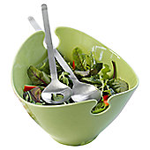 Steel Function Milano Salad Bowl in Green