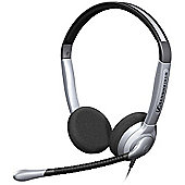 Sennheiser SH 350 IP Wired Stereo Headset - Over-the-head - Semi-open