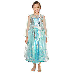 Disney Frozen Elsa Premium Dress-Up Costume years 07 - 08 Blue