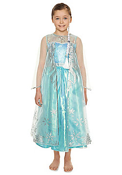 Disney Frozen Elsa Premium Dress-Up Costume - 7-8 yrs